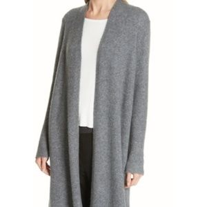 Eileen Fisher Gray Cardigan Duster SMALL 1221